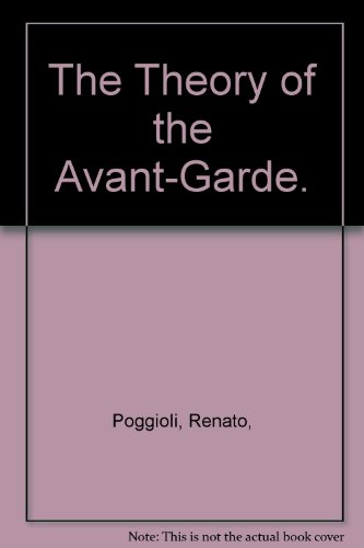 9780064300018: The Theory of the Avant-Garde.