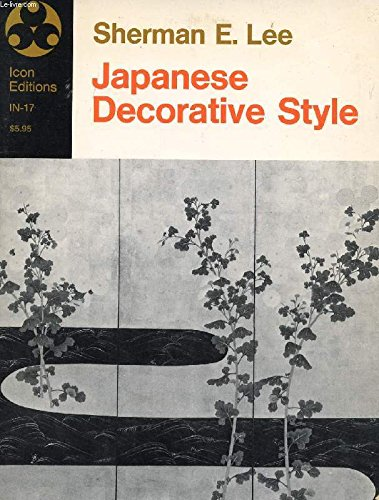9780064300179: Japanese decorative style (Icon editions, IN-17)