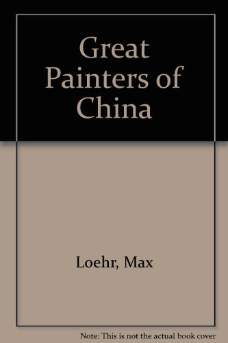 9780064301053: Great Painters of China
