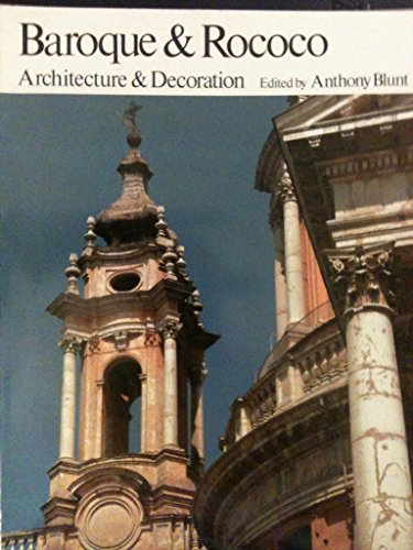 9780064301152: Baroque and Rococo Architecture and Decoration
