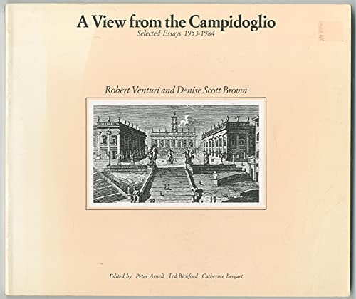 9780064301398: View from the Campidoglio : Selected Essays 1953-1984 (Icon Editions)