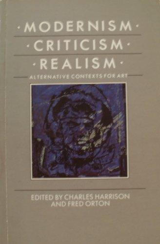 9780064301428: Modernism, Criticism, Realism