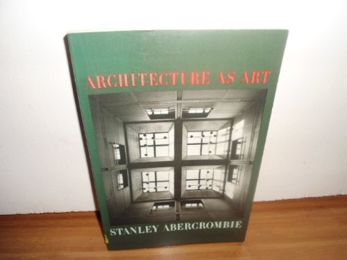 9780064301596: Architecture as Art (Icon editions)