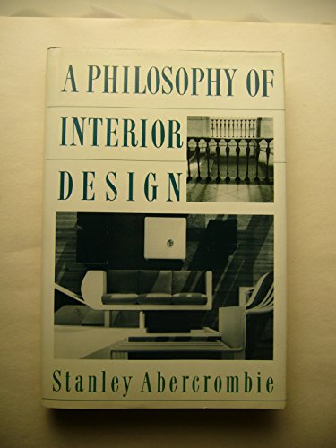 9780064302968: Philosophy Of Interior Design (Icon editions)