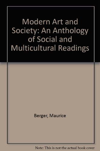 9780064303880: Modern Art and Society: An Anthology of Social and Multicultural Readings