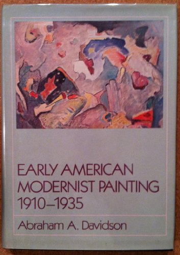 9780064309752: Early American Modernist Painting, 1910-35 (Icon editions)