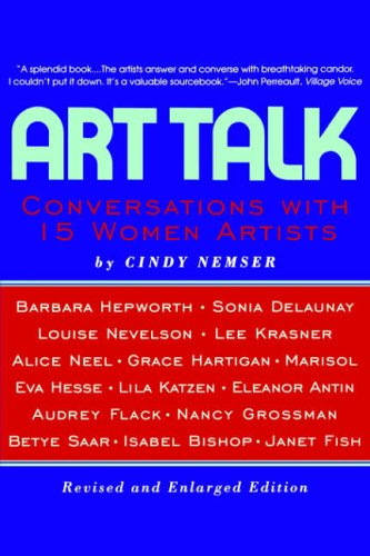 9780064309837: Art Talk: Conversations With 15 Women Artists, Revised And Enlarged Edition (Icon Editions)