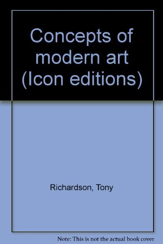 9780064384452: Concepts of modern art (Icon editions)