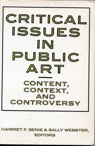 9780064385183: Critical Issues In Public Art