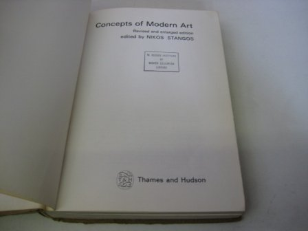 9780064385350: CONCEPTS OF MODERN ART, REVISED EDITION (ICON EDITIONS)