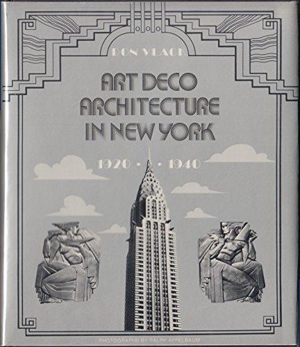 9780064388504: Art Deco Architecture in New York- 1920-1940