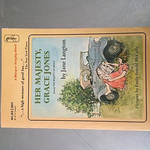 9780064400275: Her Majesty, Grace Jones = Formerly the Majesty of Grace