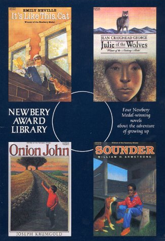9780064401623: Newbery Award Library Box Set: Sounder, Onion John, Julie of the Wolves, It's Like this Cat