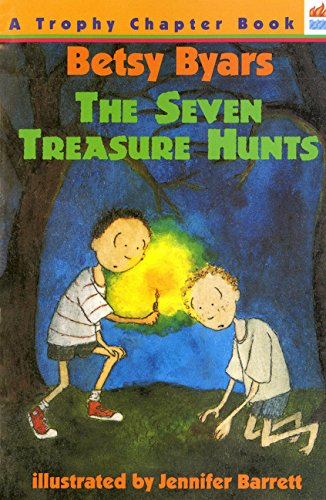 9780064404358: The Seven Treasure Hunts (Trophy Chapter Books (Paperback))