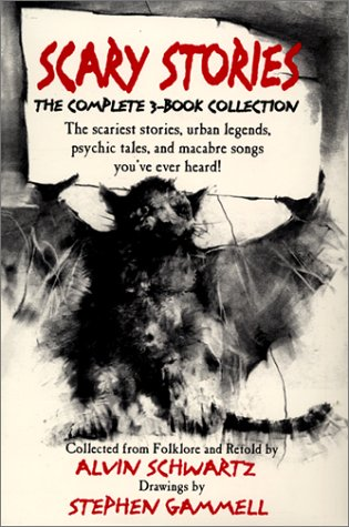 Scary Stories Boxed Set: Schwartz, Alvin; Gammell,