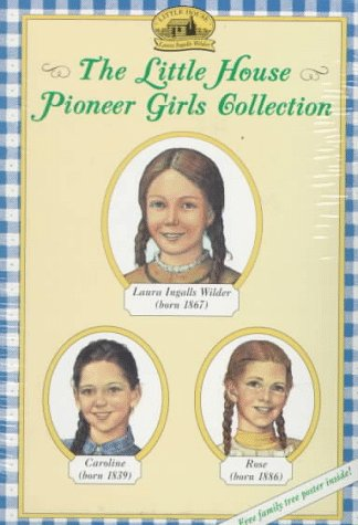 9780064407090: The Little House Pioneer Girls Collection Boxed Set