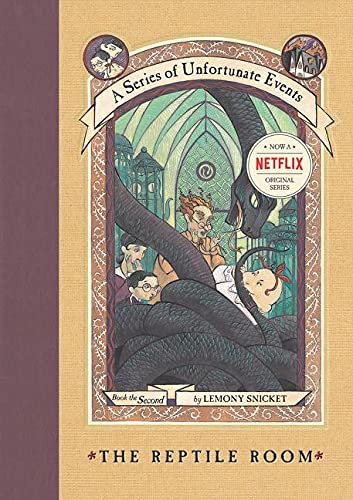 Reptile Room: A Series of Unfortunate Events: Book the Second.: SNICKET, Lemony.