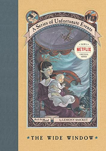 A Series of Unfortunate Events: The Wide Window, Book the Third ***SIGNED ADVANCE READING COPY***: ...