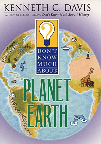 9780064408349: Don't Know Much About Planet Earth