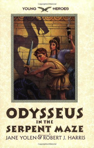 9780064408479: Odysseus in the Serpent Maze (Young Heroes (Harper Paperback))