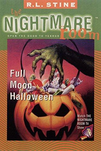 9780064409087: Full Moon Halloween (The Nightmare Room, 10)