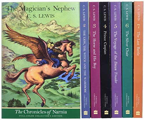 9780064409391: The Chronicles of Narnia Full-Color Box Set (Books 1 to 7)