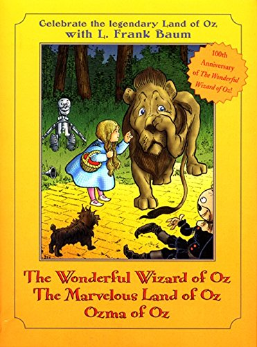 Books of Wonder Oz Box Set: The Wonderful Wizard of Oz / The Marvelous Land of Oz / Ozma of Oz
