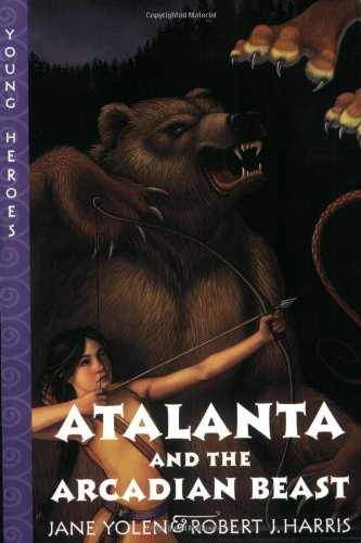9780064409803: Atalanta and the Arcadian Beast (Young Heroes (Harper Paperback))