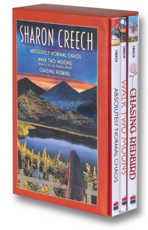 9780064410083: Sharon Creech Box Set: Absolutely Normal Chaos, Walk Two Moons, Chasing Redbird