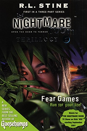 9780064410403: The Nightmare Room Thrillogy #1: Fear Games