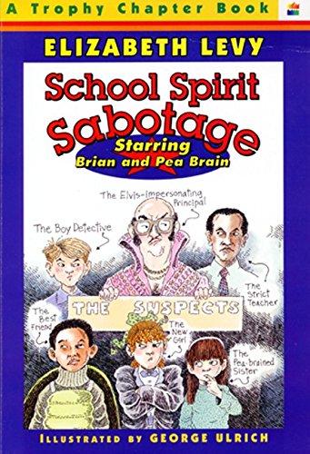 9780064420136: School Spirit Sabotage