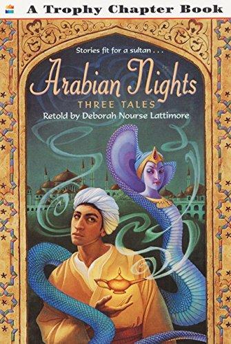 9780064421362: Arabian Nights: Three Tales (Trophy Chapter Books)