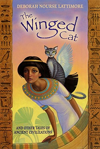 9780064421546: The Winged Cat: And Other Tales of Ancient Civilizations