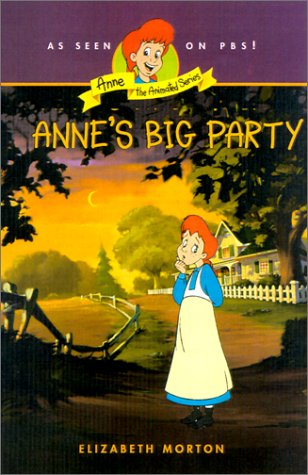 9780064421577: Anne's Big Party (Anne-the Animated Series)
