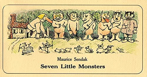 9780064431392: Seven Little Monsters