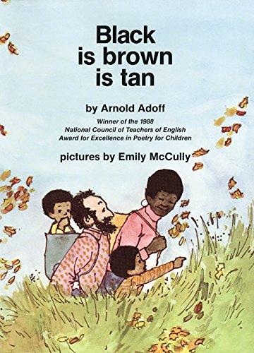 9780064432696: black is brown is tan