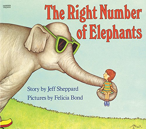 9780064432993: The Right Number of Elephants