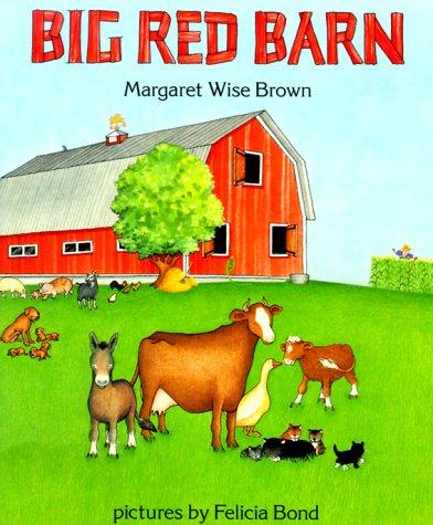 9780064433495: Big Red Barn