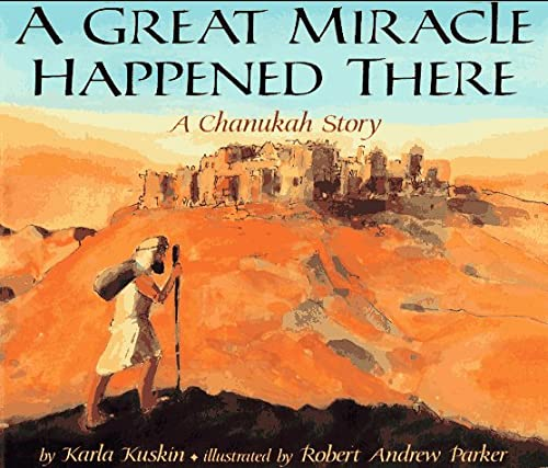 9780064434263: A Great Miracle Happened There: A Chanukah Story