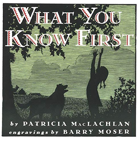 9780064434928: What You Know First (Trophy Picture Books (Paperback))