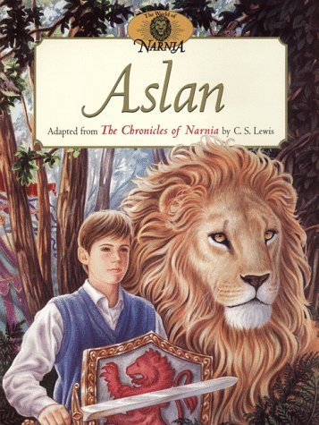 9780064435277: Aslan (The World of Narnia Series)