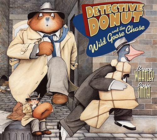 9780064435536: Detective Donut and the Wild Goose Chase (Trophy Picture Books)