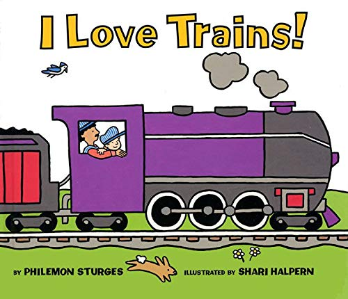 9780064436670: I Love Trains