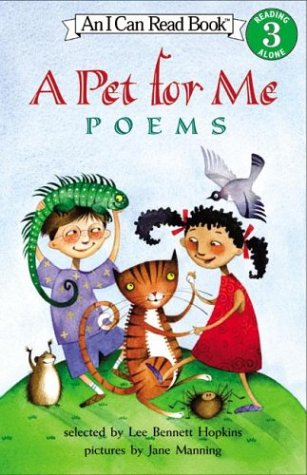 9780064437165: A Pet for Me: Poems (I Can Read Book 3)
