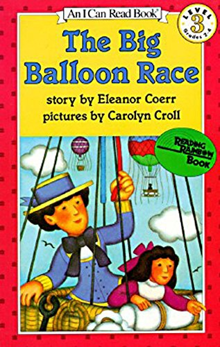 9780064440530: The Big Balloon Race, Level 3 (I Can Read)