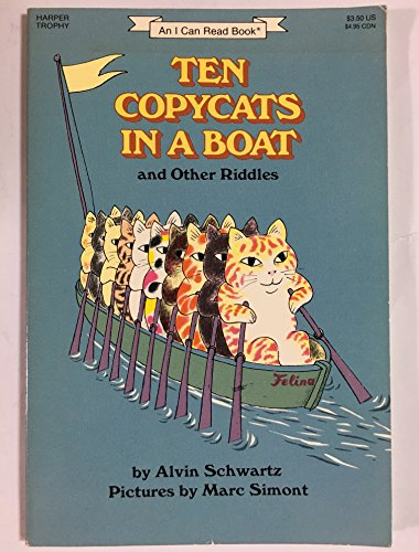 9780064440769: Ten Copycats in a Boat and Other Riddles (I Can Read Series)