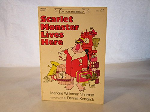 9780064440981: Scarlet Monster Lives Here (An I Can Read Book)
