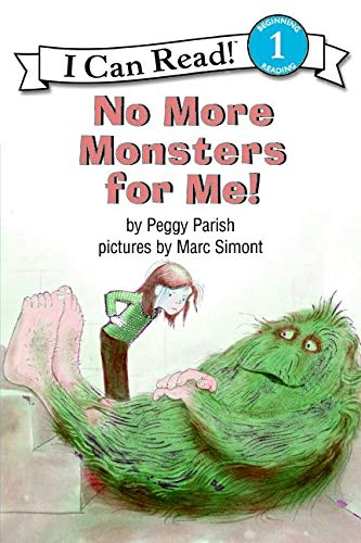9780064441094: No More Monsters for Me! (I Can Read Book 1)