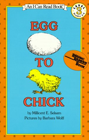 9780064441131: Egg to Chick (I Can Read Book 3)