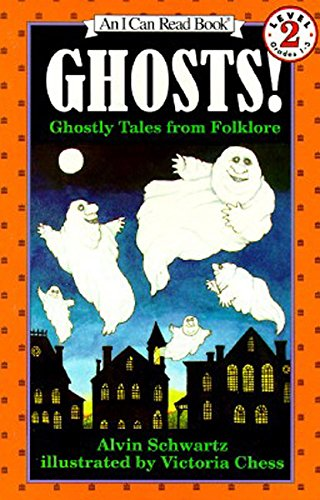 9780064441704: Ghosts!: Ghostly Tales from Folklore (An I Can Read Book, Level 2)